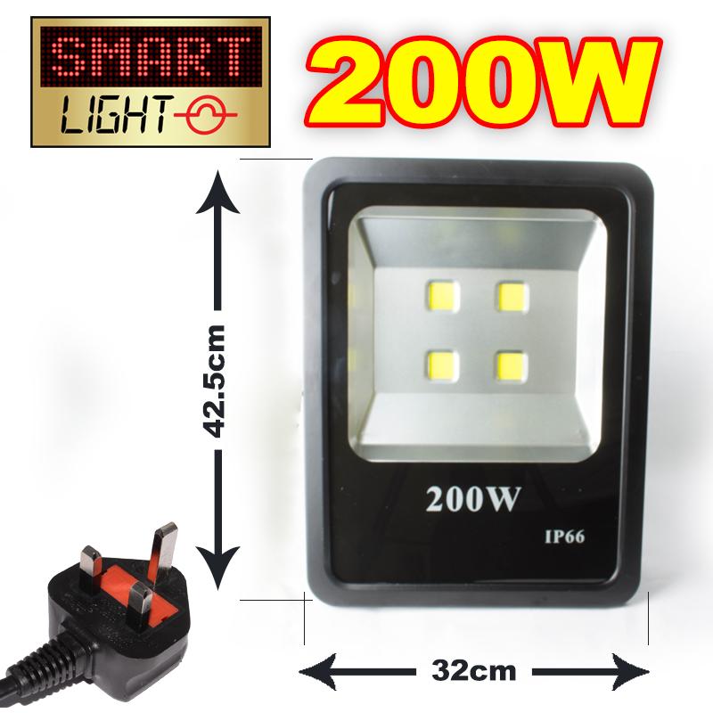 SmartLight-RGB-16-Colour-Changing-Garden-Security-PIR-LED-Slim-Flat-Flood-Light